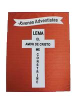 Bandera del Lema de los Jóvenes Adventistas