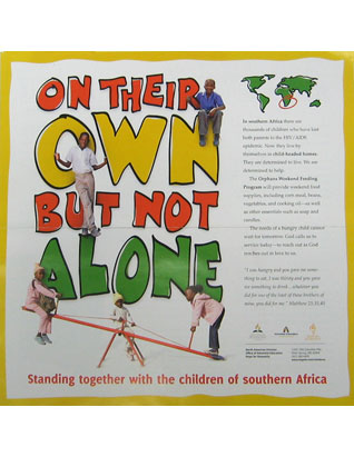 On Their Own But Not Alone Poster K-6