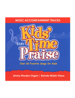 Kids' Time Praise Accompaniment Tracks (CD)