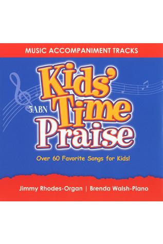 Kids' Time Praise Accompaniment Tracks (CD)