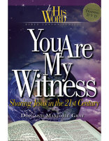You Are My Witness (Book w/ DVD)