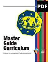 Master Guide Curriculum PDF Download - English