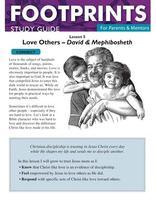 Footprints for Parents & Mentors Study Guide Lesson 8 - 10 copies