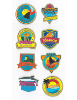 Micronesian Islands Pathfinder Pins