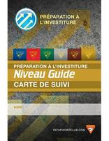 Pathfinder Investiture Achievement Record Card - Guide - French