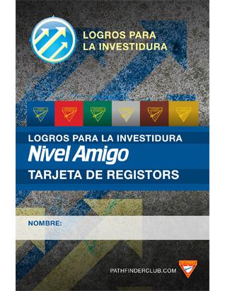 Tarjeta de Registros Nivel de Amigo - Logros para la Investidura