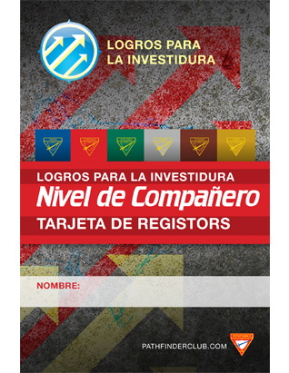 Tarjeta de Registros Nivel de Compañero - Logros para la Investidura