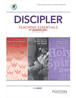 Growing Together Discipler Posters - 4th Quarter