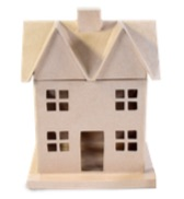 Paper Mache House