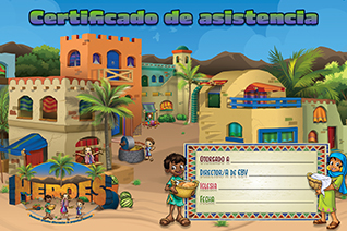 VBS 20 Cert of Attendance Spanish