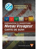FRENCH Pathfinder Investiture Achievement Record Card - Voyager