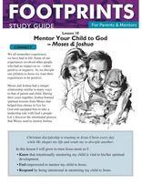 Footprints for Parents & Mentors Study Guide Lesson 10 - 10 copies