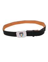Adventurer Staff Black Leather Belt Strap & Buckle