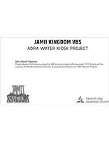 Jamii Kingdom VBS Mission Envelope