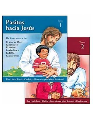 Child's Steps to Jesus - 2 vol - Spanish