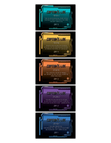 Galactic Quest VBS - Memory Verse Posters (set of 5)