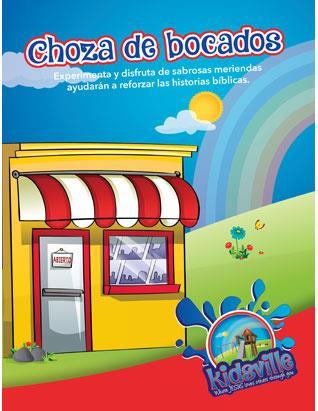 Kidsville VBX Snack Shack - Spanish
