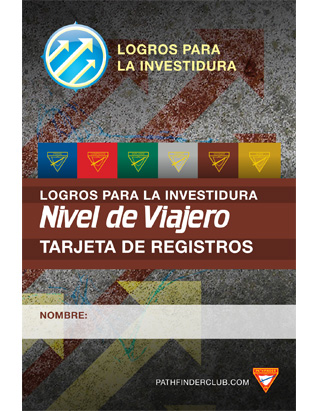 Voyager Record Card - Investiture Achievement (Spanish)