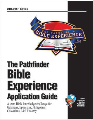 Pathfinder Bible Experience Application Guide 2016/17 Galatians, Ephesians, Philippines, Colossians, 1&2 Timothy