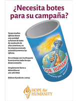 Hope for Humanity Caring Can Flyer - Spanish