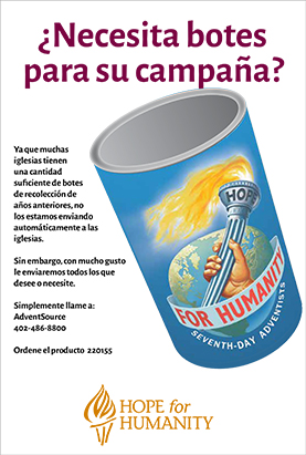 HFH Caring Can Flyer - Spanish