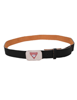 Pathfinder Staff Black Leather Belt Strap & Buckle