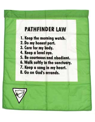 Pathfinder Law Banner (English)