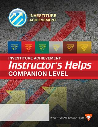 Companion Instructor's Helps - Investiture Achievement