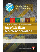 Guide Record Card - Investiture Achievement (Spanish)