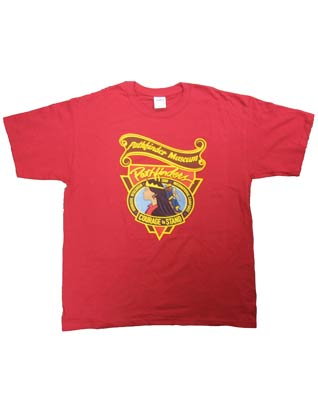 Pathfinder Museum T-Shirts Red