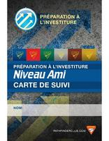 Pathfinder Investiture Achievement Record Card - Friend - French