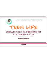 Growing Together Teen Life Teaching Kit - 4th Quarter