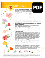 Busy Bee Flowers Award - PDF Download