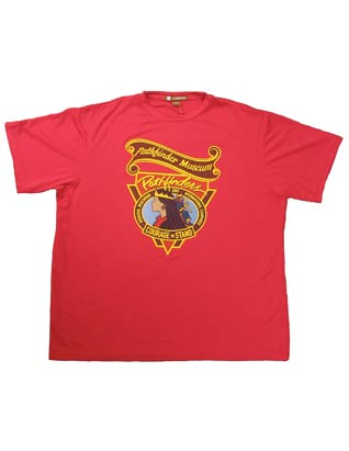 Camiseta 'transpirable' roja Pathfinder Museum 'breathable'