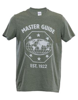 Master Guide Est. 1922 T-shirt - Heather Military Green