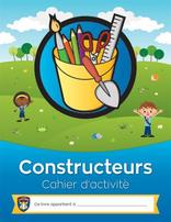 Builder Activity Book (French)