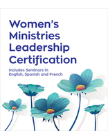 Women's Ministries Certification Level 1-4 - CD