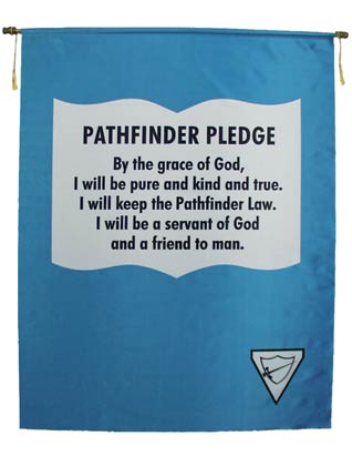 Pathfinder Pledge Banner (English)
