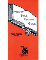 Weekly Bible Reading Guide--Primary