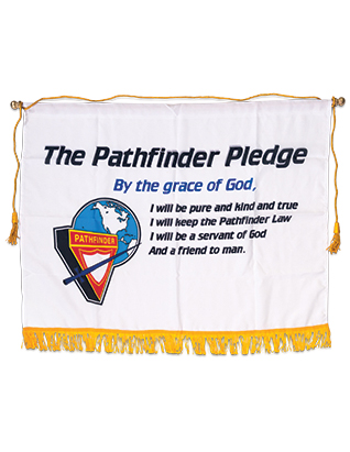 Pathfinder Pledge Banner (English 4-Color)