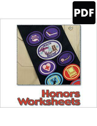 Honors Worksheets PDF Download - English