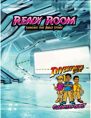 Galactic Quest VBS - Ready Room Leader's Guide (Bible story)