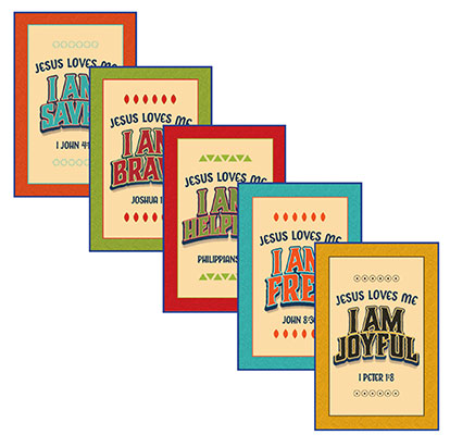 VBS 19 Daily Action Point Posters (5