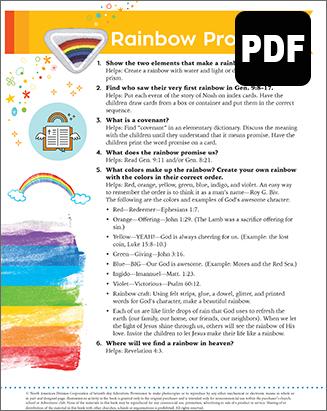 Helping Hand Rainbow Promise Award -