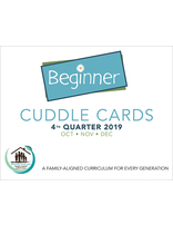 Growing Together SS Curriculum Cradle Roll Cuddle Card 4th Qtr 19 Standing Order