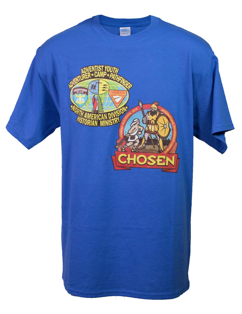 Camiseta de NAD Historian Ministry del camporee Chosen