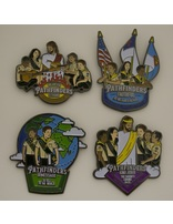 Pathfinder Song Pins - Set of 4