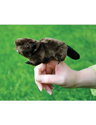 Eager Beaver Finger Puppet