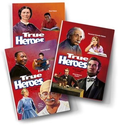 True Heroes 3 Vol set