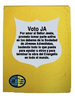 Bandera del Voto de los Jóvenes Adventistas (Español)